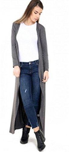 Vanilla Inc - Gilet - Femme noir * Taille Unique gris charbon