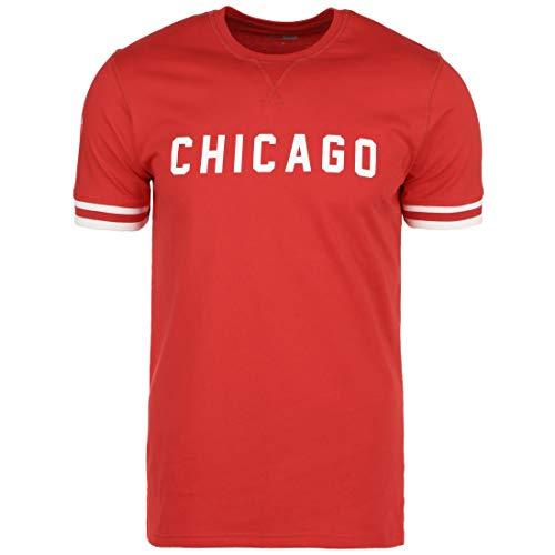 New Era NBA Wordmark Chicago Bulls T-Shirt Herren rot, L