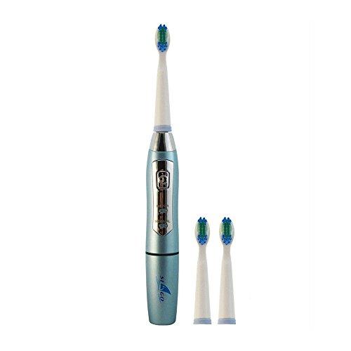STONG SG910 Intelligent ultra Schallzahnbürste elektrische Zahnbürste mit drei Bürstenköpfe-ultra Schalltechnologie - 2-Minuten-Timer - Zahnärzte empfehlen ultra Schalltechnologie (blau)