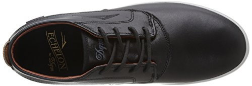 Lakai Camby Mid Dqm, Chaussures de skateboard homme Noir (Black/Brown Leather)