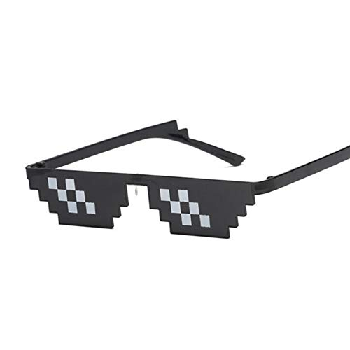 Kjwsbb Brille Frauen Mosaik Sonnenbrille Brillen cool auf der ganzen Welt