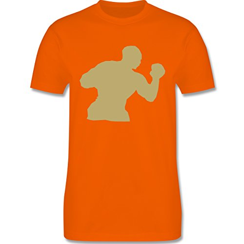 Kampfsport - Boxen - Herren Premium T-Shirt Orange