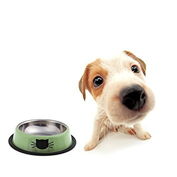 Anself-Small-Stainless-Steel-Dog-Cat-Pet-Feeding-Water-Bowl-with-Rubber-Rim