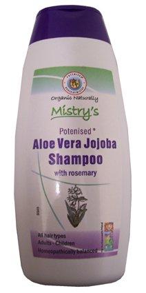 Mistrys Organic Naturally Aloe Vera Jojoba Shampoo with Rosemary 200ml
