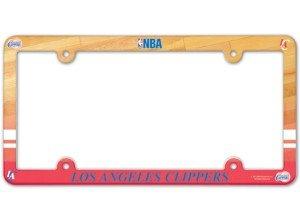 NBA Los Angeles Clippers Full Color Nummernschild Rahmen, Team Farbe, eine Größe (Standard-clipper)