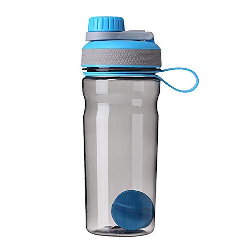DERTYUIMBX Shaking Cup, Portable, Fitness Cup with Scale, Mixing Ball, Sports Cup