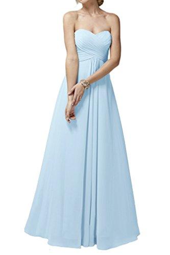 Ivydressing - Robe - Trapèze - Femme Bleu - Bleu ciel