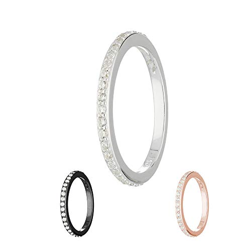 Treuheld Ring - 925 Silber - Kristalle [01.] - Silber 48