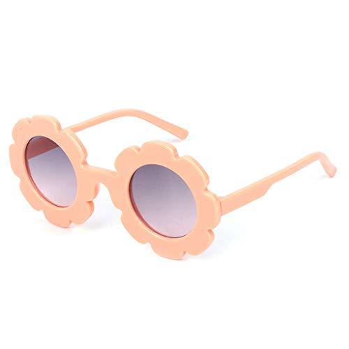 Manyo Sonnenbrille für Toddler, Jungen, Mädchen, Sommerschutz, für Kinder, hübscher Rahmen mit Blumen, UV400