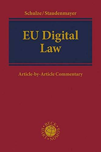 EU Digital Law: Article-by-Article Commentary