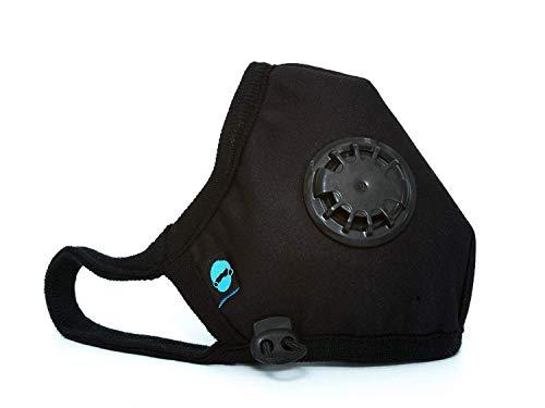 Cambridge Mask Company Basic N95 - Respirador anticontaminación Lavable con Correas Ajustables