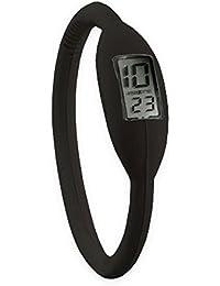 Reloj de pulsera de silicona - Digital - Mujer / Cadete- Color negro