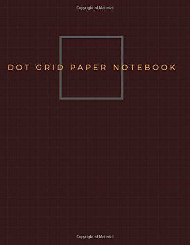 Dot Grid Paper Notebook: Dot Grid Paper Graph Dotted Journal Notebook Large 8.5 x 11 inches - 104 pages (Volumn 32)