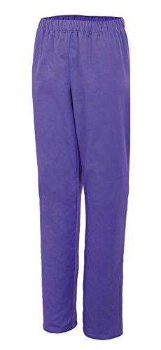 Velilla 333/C/T Moderne Pyjamahose, Lila, 333/C26/T4