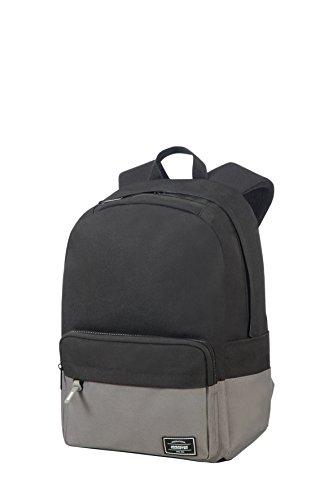 American Tourister Urban Groove Lifestyle Zaino, 40 cm, 23 L, Nero (Black/Grey)