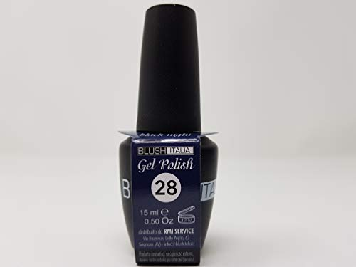Gel Polish 15 ml semipermanenti Blush Italie 96 couleurs ultra coprenza maximale durée (28 – Black Night)