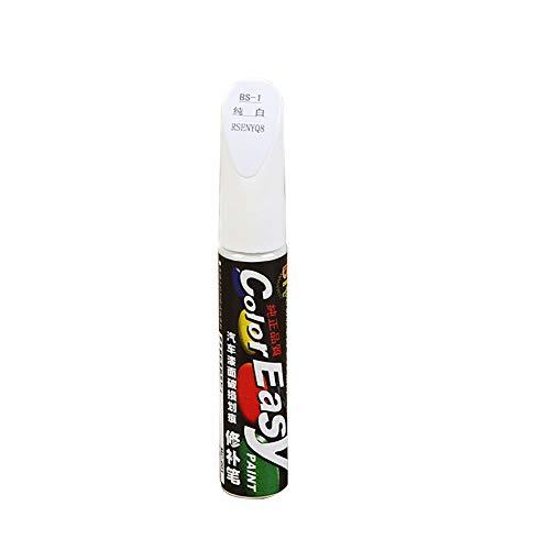 AutoKratzer Reparatur Stift Clear Repair Remover Tool bunte Auto-Auto-Lack-Lackierung Touch up Scratch Reparatur Stift (weiß)