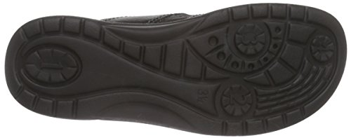 Ganter Aktiv Fabia, Weite F Damen Pantoletten Schwarz (schwarz 0100)