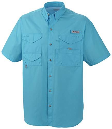 Columbia Herren Bonehead Kurzarm-Shirt, 4X/Tall, Riptide -