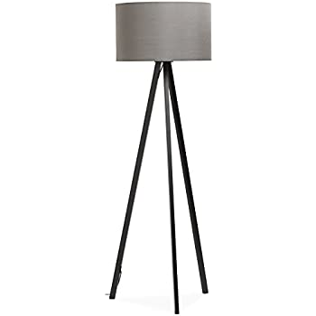 Alterego spring tripod floor lamp with grey shade and 3 feet alterego spring tripod floor lamp with grey shade and 3 aloadofball Gallery