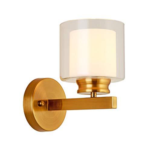 Nordic Postmodern Appliques Salon Américain Décoration Corridor Chambre Lampe De Chevet Maison Déco Or Appliques Murales Luminaire,Tricolorlight