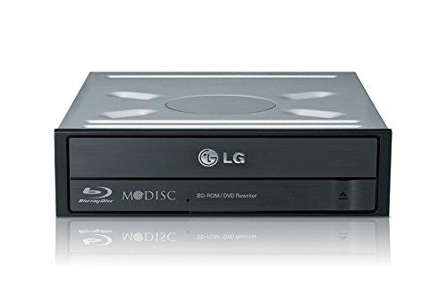 LG CH12NS40 Blu-Ray DVD Combo Laufwerk | Schwarz | Upgrade für Ankermann PC-Systeme