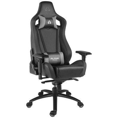 Alpha Gamer Polaris Racing Gaming Chair Spielsitz, schwarz