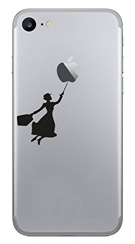 Mary Poppins Apple iPhone Smartphone Handy Aufkleber Skin Decal Sticker Vinyl 6