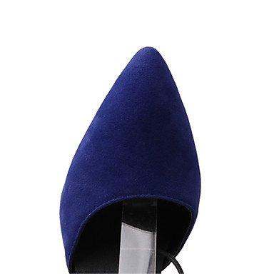 LvYuan Da donna-Zoccoli e ciabatte-Ufficio e lavoro Formale Serata e festa-Club Shoes Innovativo-A stiletto-Felpato-Nero Blu Rosso Blue
