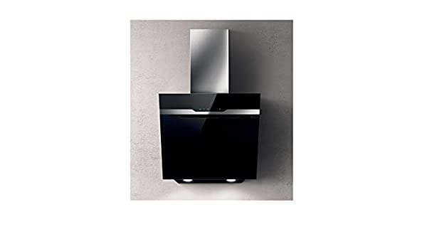 Elica majestic wall kitchen hood prf black wall cm