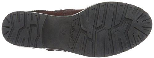 Tamaris Damen 25311 Biker Boots Rot (BORDEAUX COMB 550)