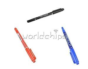 NEU 5PCS DIY PCB BLAU CCL Anti-etching PCB circuit board Ink Marker Pen