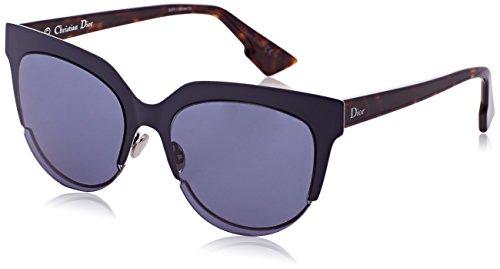 Dior Damen DIORSIGHT2 72 Rey Sonnenbrille, Blau (Mtdkbluee Hvn/Bluette), 54
