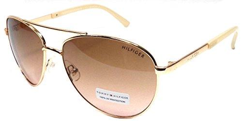Tommy hilfiger -  occhiali da sole - donna oro gold