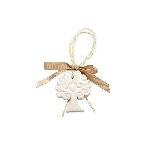 10 pz gessetto albero della vita con fiocco decorazione bomboniera