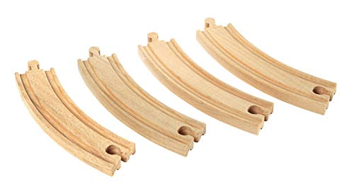 BRIO World  - 33342 - GRANDS RAILS COURBES - 170 mm