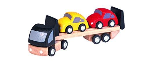 PlanToys - PT6043 - Jouet en bois - Véhicule - Transport de Voitures