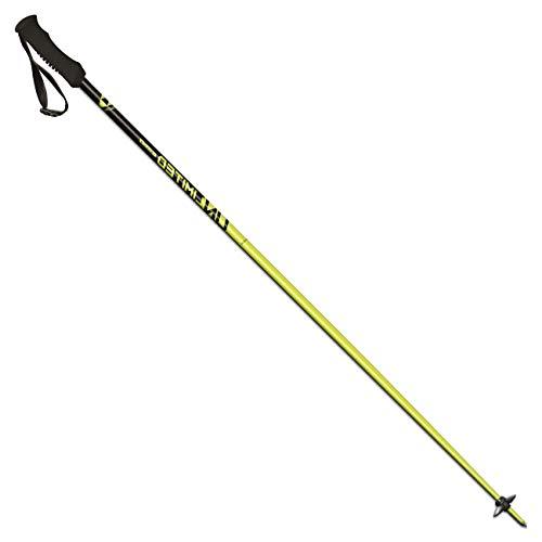 Fischer Unisex- Erwachsene Unlimited Skistöcke, gelb, 120 cm