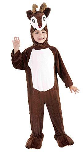 Forum Novelties 65723_ T34T Rentier Kinder Plüsch Maskottchen, Toddler3-4