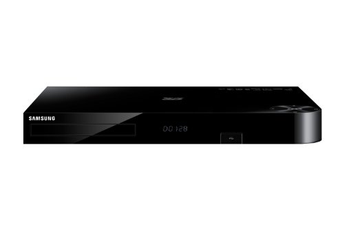 Samsung BD-H8900 HD-Recorder mit Twin Tuner und 3D Blu-ray Player (1TB HDD, UltraHD Upscaling, DVB-T/C, CI+, WLAN, Smart TV) schwarz