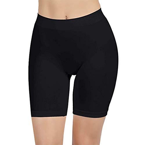 en, Damen Sexy Hohe Taille Komfortable Oberschenkel Schlanker Slip Shorts für unter Kleider Hosen ()