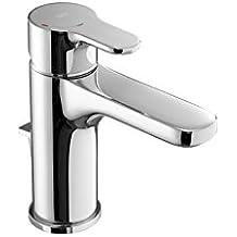 Roca L20 - grifo monomando para lavabo con maneta lateral, desagüe automático, cold start . Griferías hidrosanitarias Monomando. Ref. A5A6B09C00