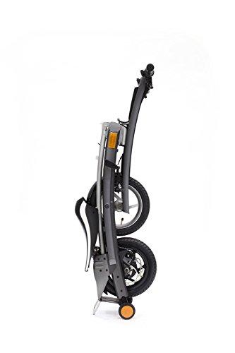 Stigo Bike 200W E-Scooter, schwarz/silber - 4