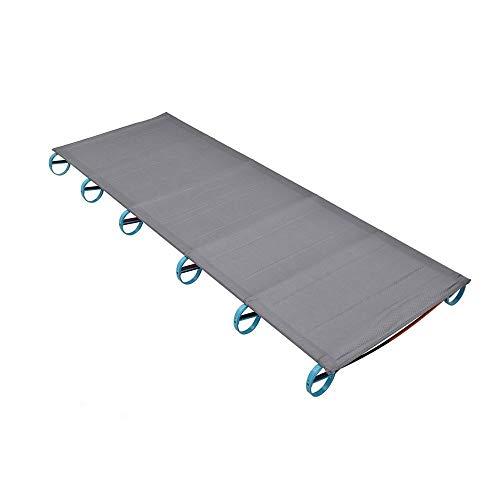 XSWZAQ Klappbett Ultraleichtes Campingbett Aluminium Klappbares Einzelbett/Garten Terrasse Innenmöbel
