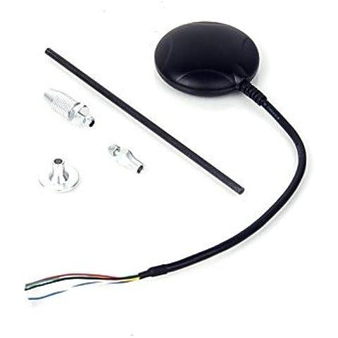 Piteng?modulo di controllo di volo uBlox neo 6m HIGHh precisione gps apm GPS integrato Bussola - nero