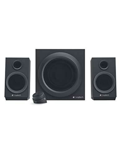 Logitech Z333 - Sistema de altavoces multimedia, color negro