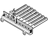 Hayward HAXBMA1153 NA Deckel 150 Verteilerbrenner Ersatz H-Serie Millivolt Elektro-Poolheizung ED1 Style