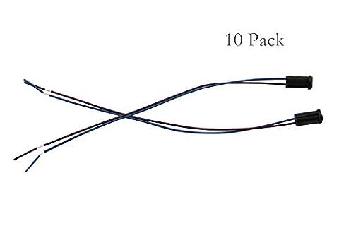 GU5.3/MR16/MR11/G4Lampe Supports/12V basse tension LED/CFL/ampoules halogènes en céramique connecteur Socket, 10 Pack G4