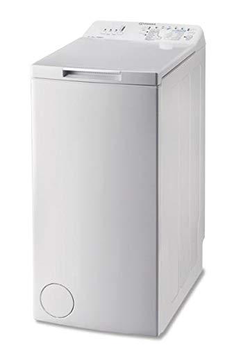 Indesit BTW N A61052 (FR) machine à laver Autonome Charge supérieure Blanc 6 kg 1000 tr/min A++ - Machines à laver (Autonome, Charge supérieure, Blanc, Rotatif, Haut, Blanc)