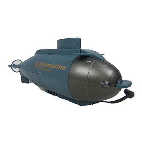Sisit pour Drone Télécommandé à Grande Vitesse pour sous-Marin Nucléaire RC,Le Cadeau des Enfants de Drone Télécommandé à Grande Vitesse de sous-Marin Nucléaire Mini RC (Bleu)